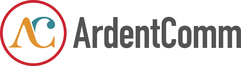 ArdentComm Logo - Gray
