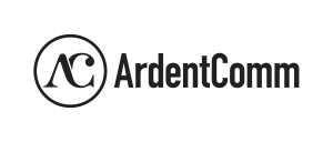 Ardent logo black