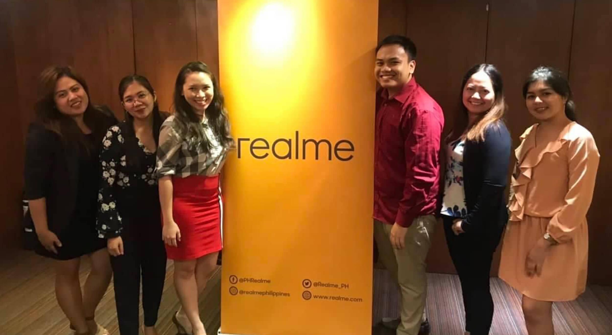 RealMe smartphone media launch